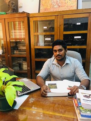 Mr. Chirath Induma (B.A(Kelaniya), PG Dip. (PGIAR) MSC(PGIAR) (Reading))