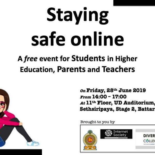 Discussion on Stay Safe Online - Including Social Media