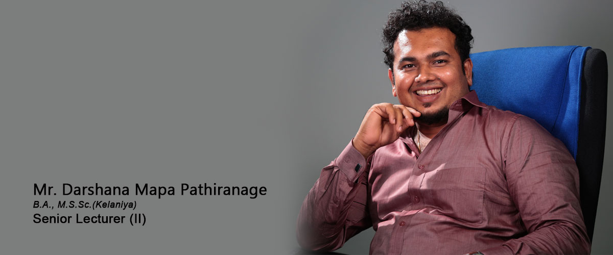Mr. Darshana Mapa Pathiranage