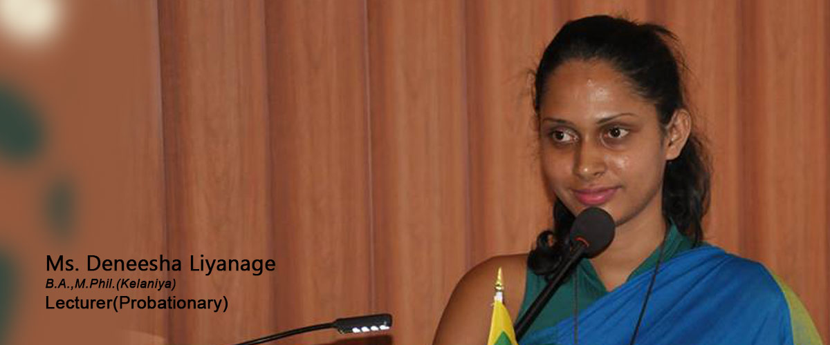 Ms. Deneesha Liyanage