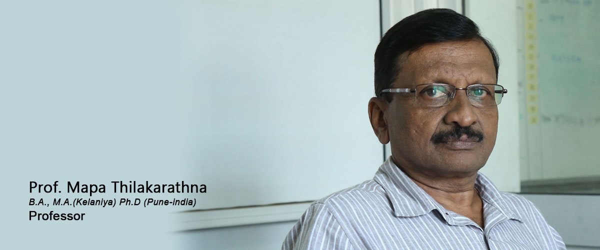 Prof. Mapa Thilakarathne