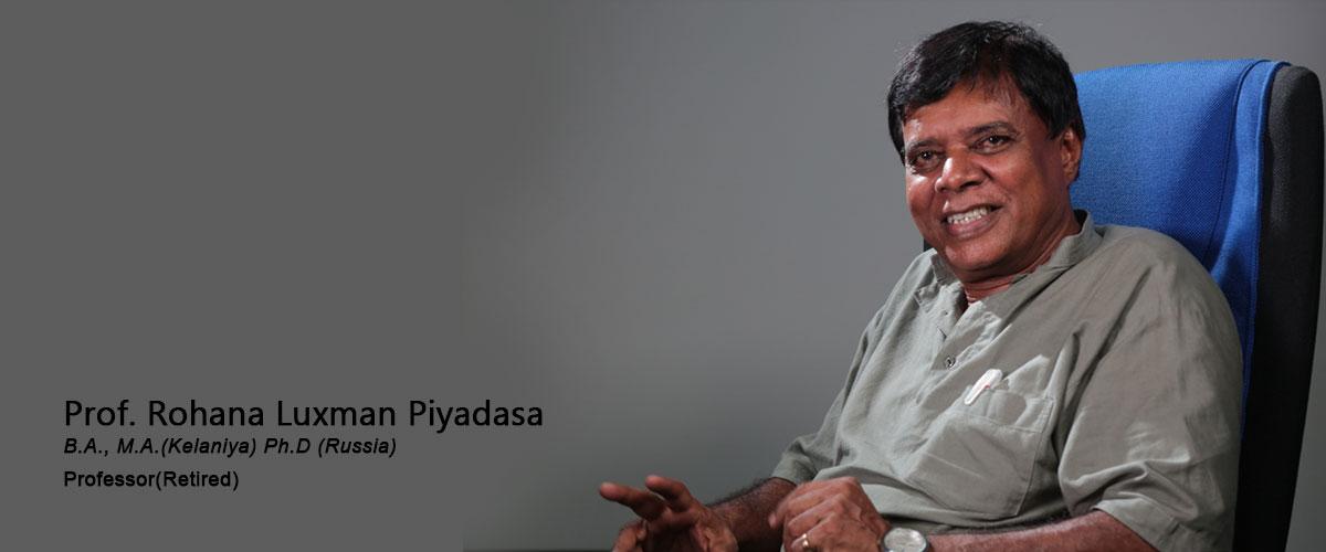 Prof. Rohana Luxman Piyadasa