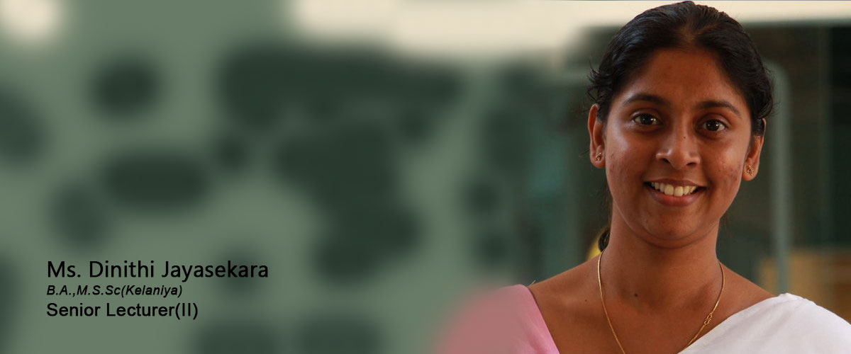 Ms. Dinithi Jayasekara